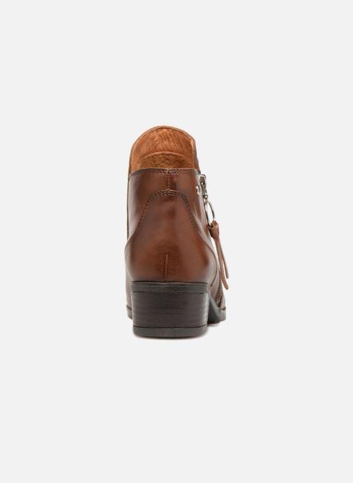 Bottines et boots Pikolinos Daroca W1U-8590 Marron vue droite