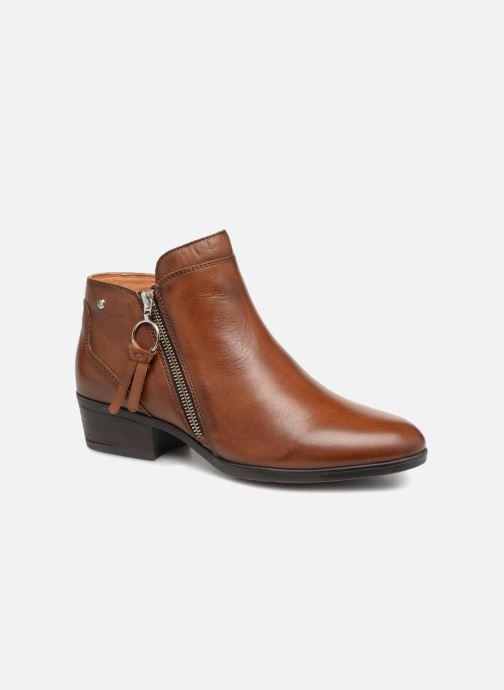 Bottines et boots Pikolinos Daroca W1U-8590 Marron vue détail/paire