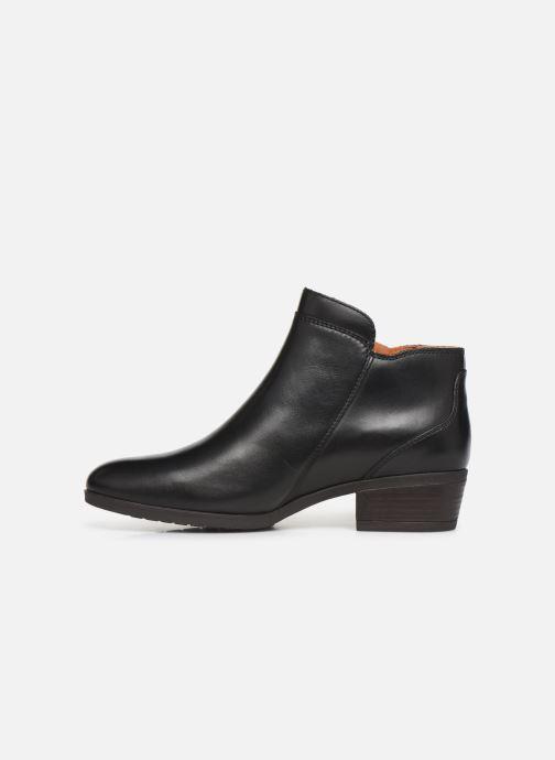 Boots en enkellaarsjes Pikolinos Daroca W1U-8590 Zwart voorkant