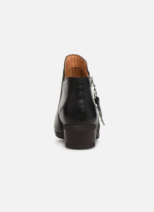 Boots en enkellaarsjes Pikolinos Daroca W1U-8590 Zwart rechts