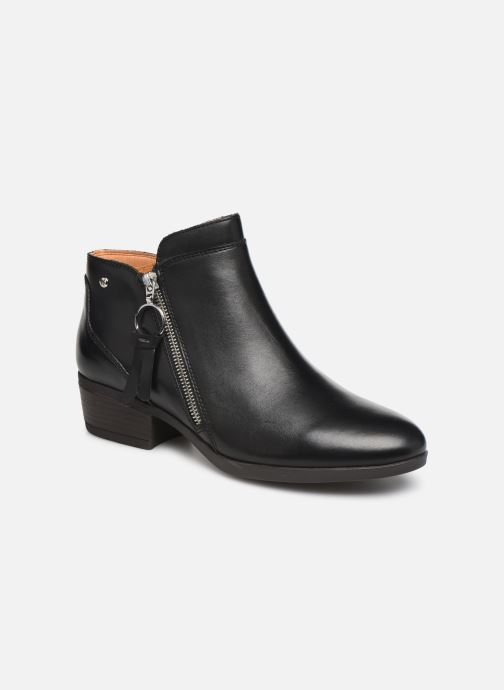 Boots en enkellaarsjes Pikolinos Daroca W1U-8590 Zwart detail