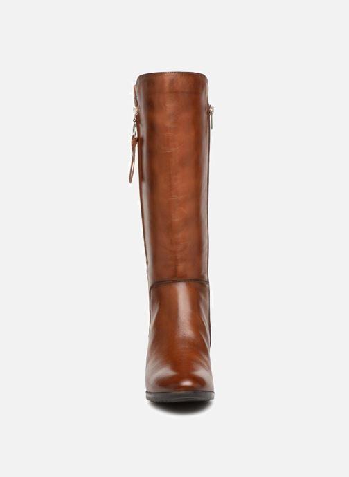 Stiefel Pikolinos Daroca W1U-9653 braun schuhe getragen