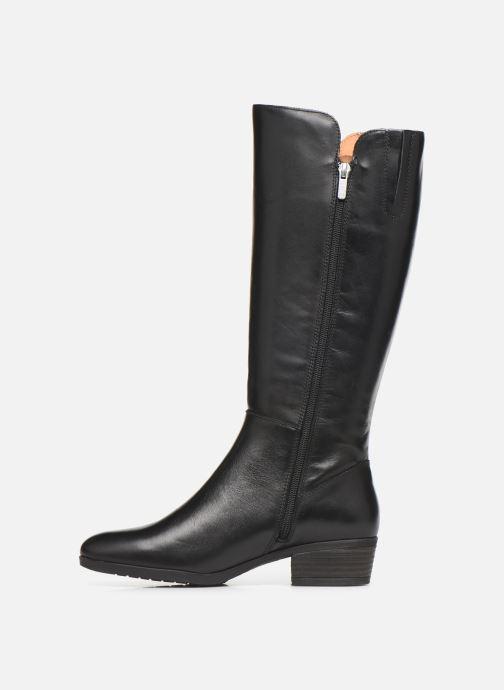 Boots & wellies Pikolinos Daroca W1U-9653 Black front view