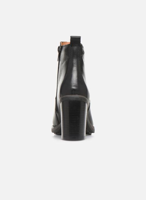 Boots en enkellaarsjes Pikolinos Pompeya W9T-8594 Zwart rechts