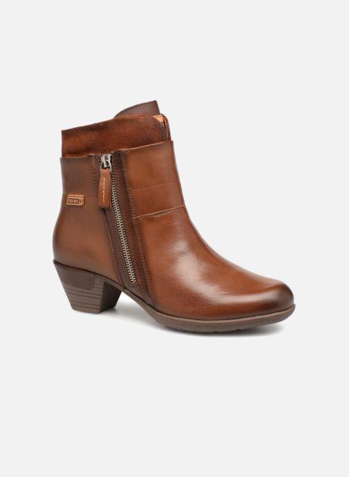 b835a6d8 Pikolinos Rotterdam 902-8745 (Brown) - Ankle boots chez Sarenza (329473)