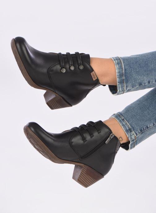 Stiefeletten & Boots Pikolinos Rotterdam 902-8746 schwarz ansicht von unten / tasche getragen