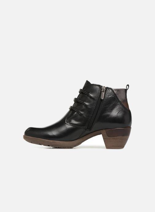 Stiefeletten & Boots Pikolinos Rotterdam 902-8746 schwarz ansicht von vorne