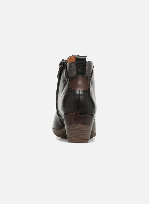 Boots en enkellaarsjes Pikolinos Rotterdam 902-8746 Zwart rechts
