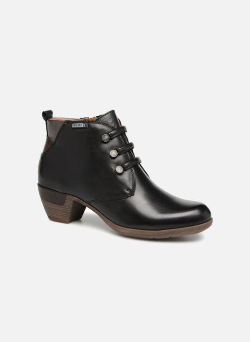 Boots en enkellaarsjes Pikolinos Rotterdam 902-8746 Zwart detail