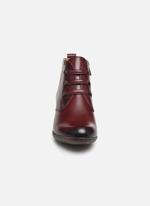 Ankle boots Pikolinos Rotterdam 902-8746 Burgundy model view