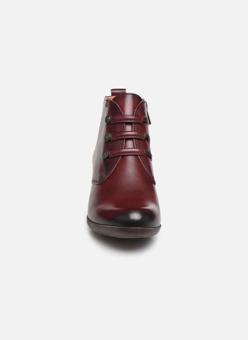 Bottines et boots Pikolinos Rotterdam 902-8746 Bordeaux vue portées chaussures