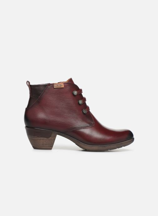 Ankle boots Pikolinos Rotterdam 902-8746 Burgundy back view
