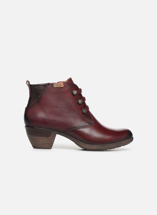 Bottines et boots Pikolinos Rotterdam 902-8746 Bordeaux vue derrière