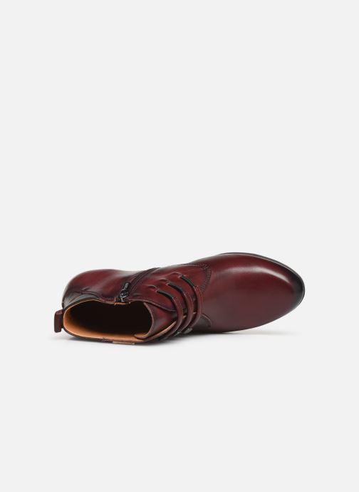 Bottines et boots Pikolinos Rotterdam 902-8746 Bordeaux vue gauche