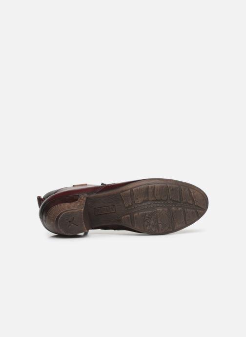 Bottines et boots Pikolinos Rotterdam 902-8746 Bordeaux vue haut