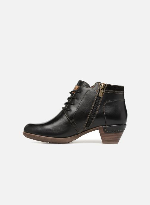 Bottines et boots Pikolinos Rotterdam 902-8901 Noir vue face