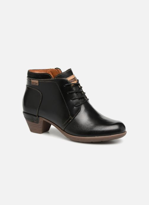 Ankle boots Pikolinos Rotterdam 902-8901 Black detailed view/ Pair view