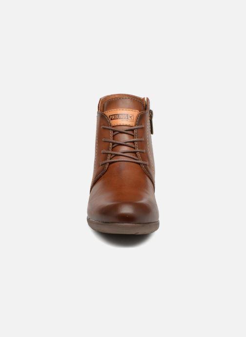 Bottines et boots Pikolinos Rotterdam 902-8901 Marron vue portées chaussures