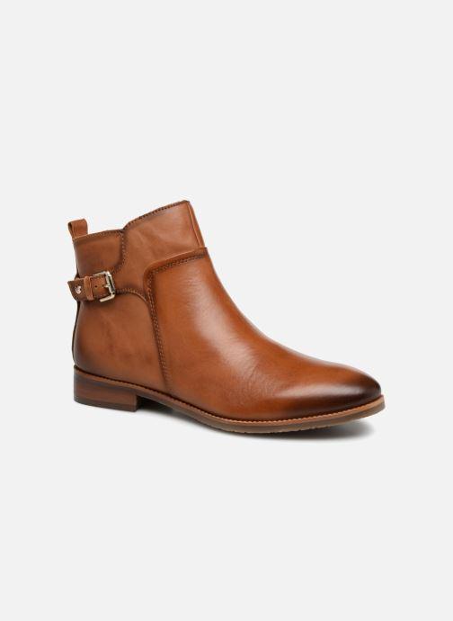 Bottines et boots Pikolinos Royal W4D-8760 Marron vue détail/paire