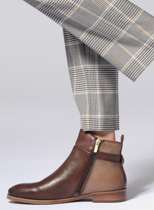 Bottines et boots Pikolinos Royal W4D-8760C1 Marron vue bas / vue portée sac