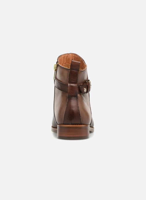 Bottines et boots Pikolinos Royal W4D-8760C1 Marron vue droite