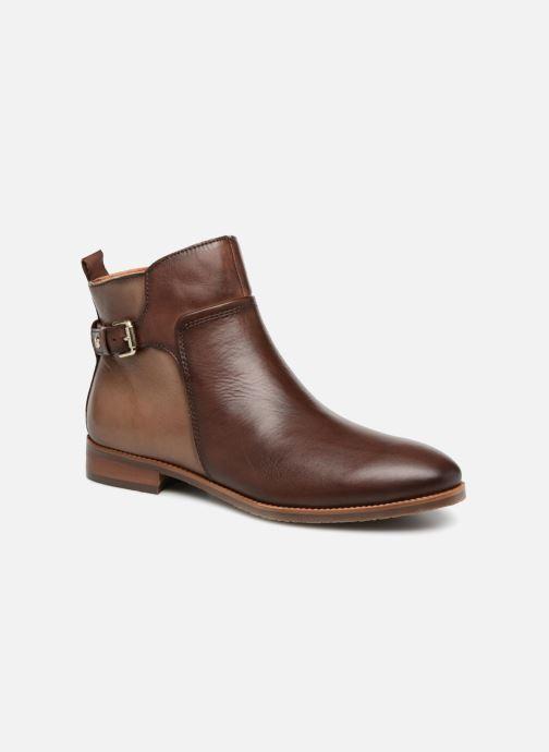 Bottines et boots Pikolinos Royal W4D-8760C1 Marron vue détail/paire