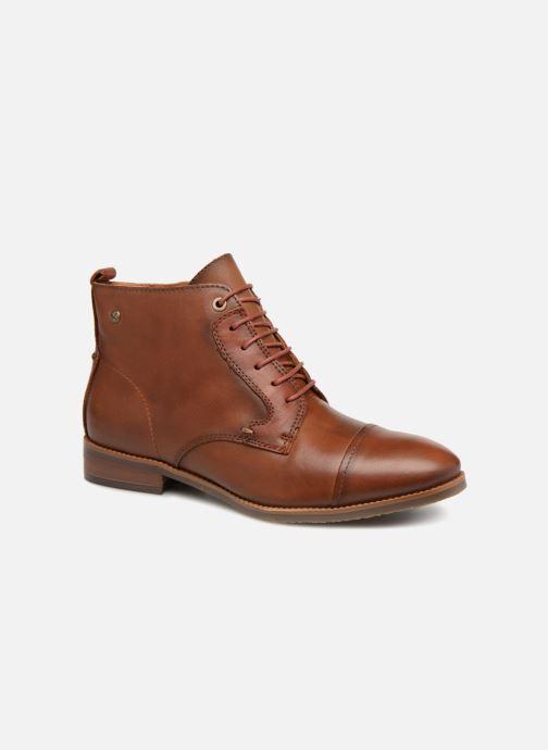 Boots en enkellaarsjes Pikolinos Royal W4D-8770C1 Bruin detail
