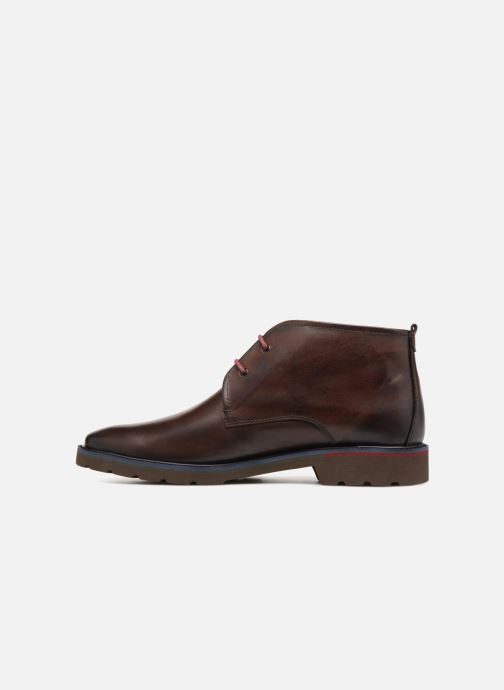 Ankle boots Pikolinos Salou M9M-8148 Brown front view
