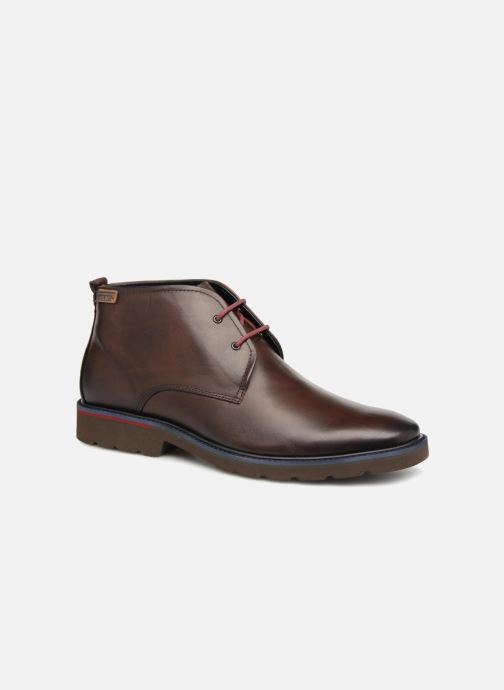 Ankle boots Pikolinos Salou M9M-8148 Brown detailed view/ Pair view