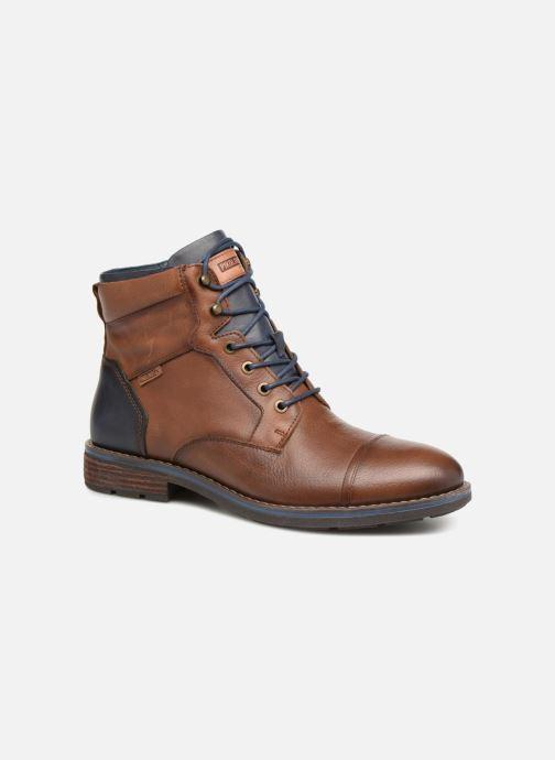 Bottines et boots Pikolinos York M2M-8170Ng Marron vue détail/paire