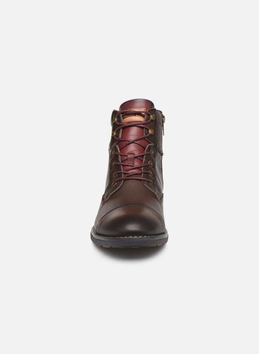 Bottines et boots Pikolinos York M2M-8170Ng Bordeaux vue portées chaussures