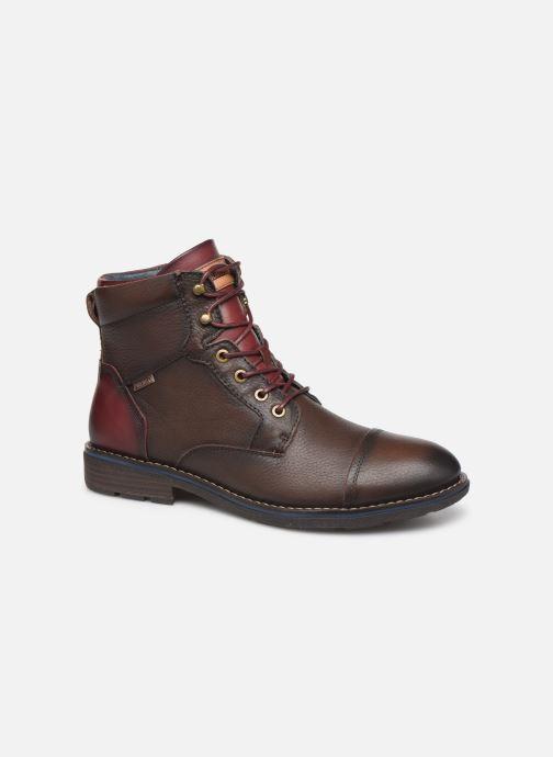 Bottines et boots Pikolinos York M2M-8170Ng Bordeaux vue détail/paire