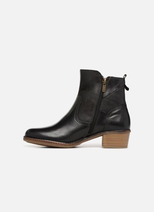 Boots en enkellaarsjes Pikolinos Zaragoza W9H-8704 Zwart voorkant