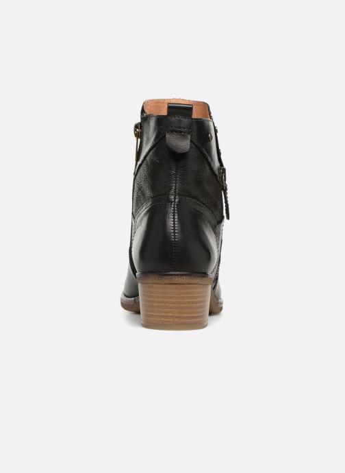 Boots en enkellaarsjes Pikolinos Zaragoza W9H-8704 Zwart rechts