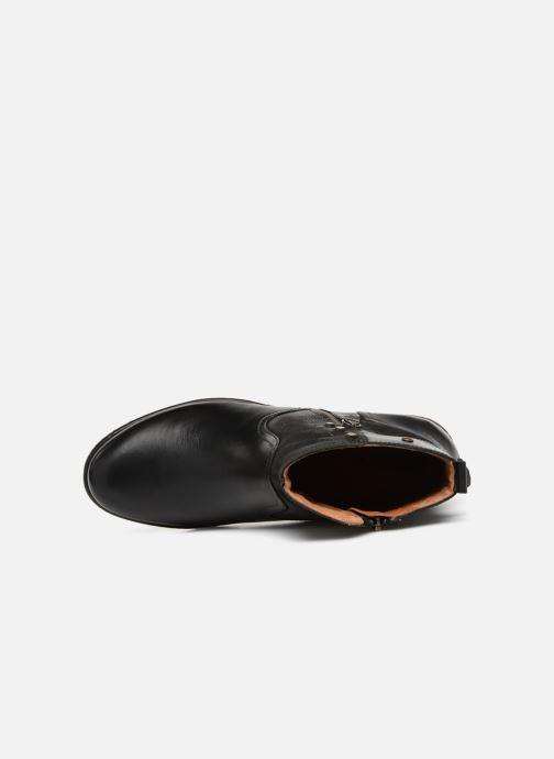 Boots en enkellaarsjes Pikolinos Zaragoza W9H-8704 Zwart links
