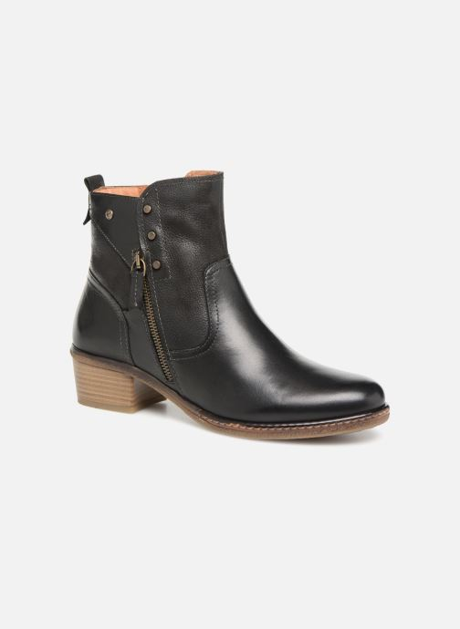 Boots en enkellaarsjes Pikolinos Zaragoza W9H-8704 Zwart detail