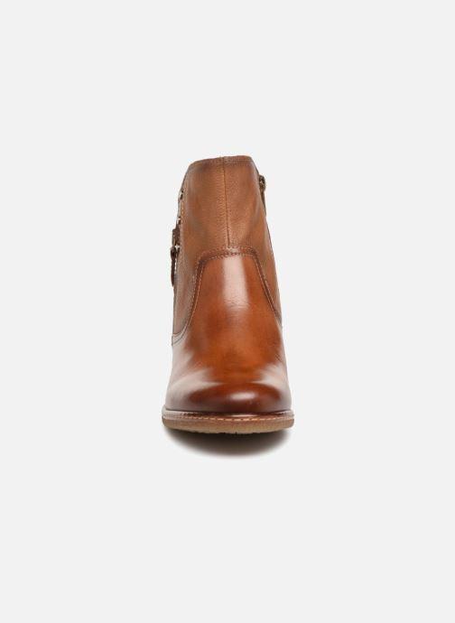 Boots en enkellaarsjes Pikolinos Zaragoza W9H-8704 Bruin model