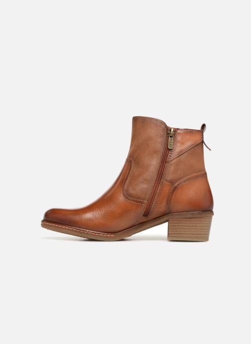 Boots en enkellaarsjes Pikolinos Zaragoza W9H-8704 Bruin voorkant