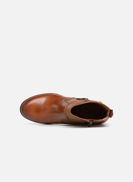 Boots en enkellaarsjes Pikolinos Zaragoza W9H-8704 Bruin links