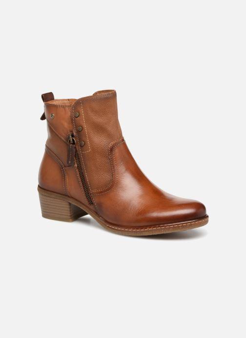 Bottines et boots Pikolinos Zaragoza W9H-8704 Marron vue détail/paire