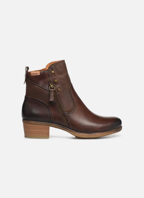 Ankle boots Pikolinos Zaragoza W9H-8704 Brown back view