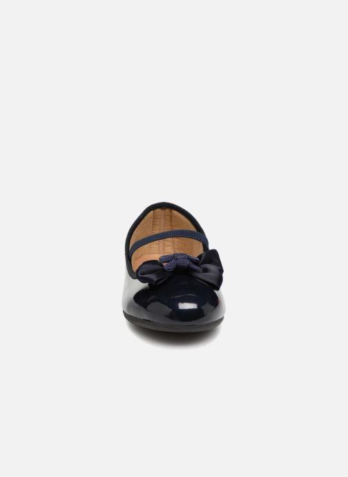 Ballerines Conguitos Ariana Bleu vue portées chaussures