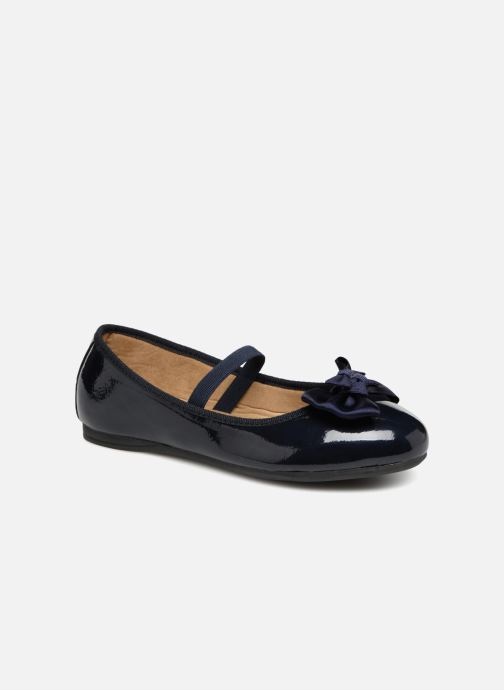 Ballet pumps Conguitos Ariana Blue detailed view/ Pair view
