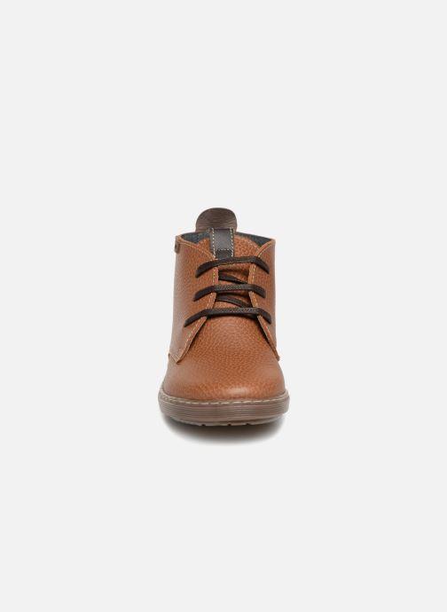 Chaussures à lacets Conguitos Pablo Marron vue portées chaussures