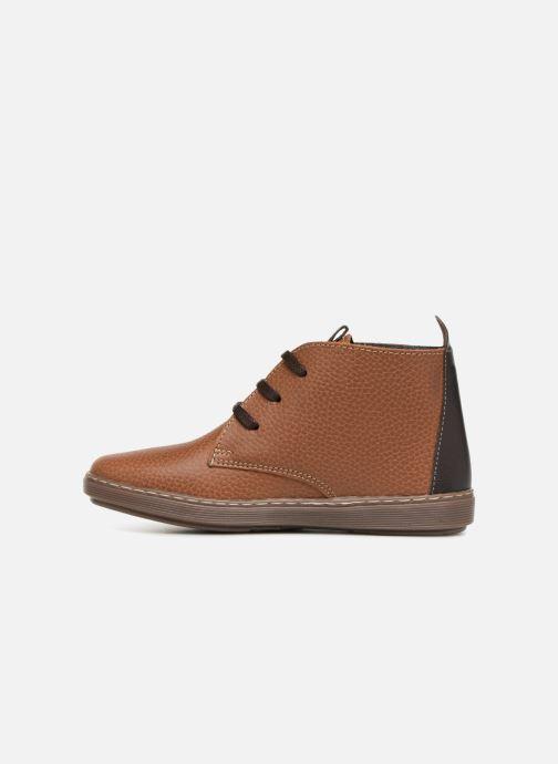 Chaussures à lacets Conguitos Pablo Marron vue face
