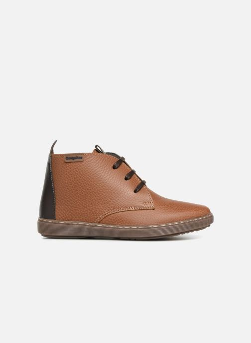 Chaussures à lacets Conguitos Pablo Marron vue derrière