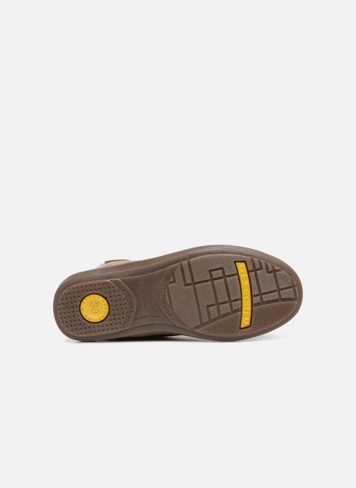 Chaussures à lacets Conguitos Pablo Marron vue haut