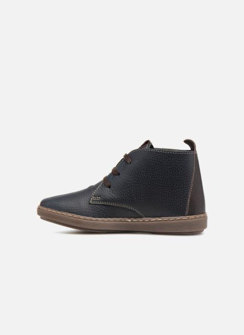 Chaussures à lacets Conguitos Pablo Bleu vue face