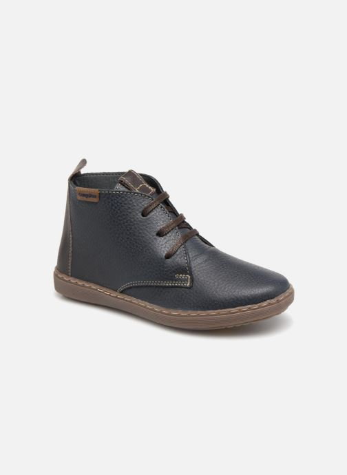 Chaussures à lacets Conguitos Pablo Bleu vue détail/paire