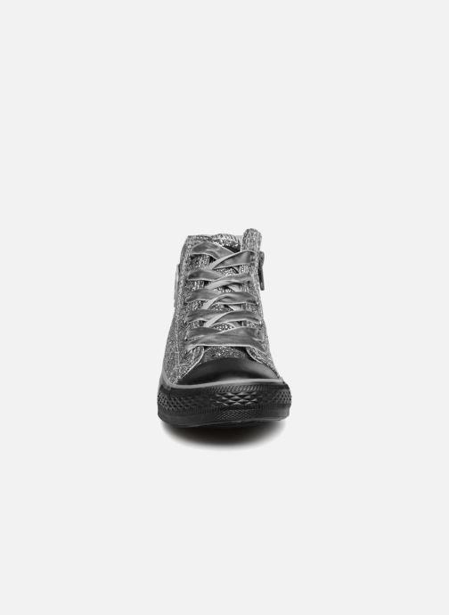 Baskets Conguitos Micaela Argent vue portées chaussures